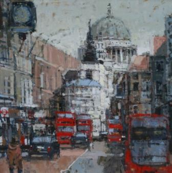 British Artist Robert E WELLS - From Fleet Street