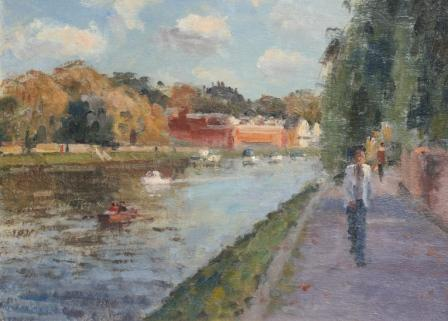 Ronald MORGAN - Along the Thames, Richmond