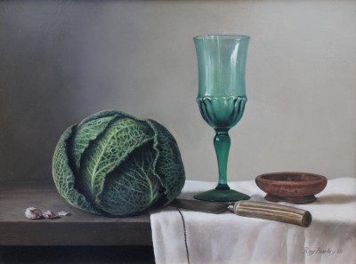 Roy BARLEY - Savoy Cabbage with Green Glass