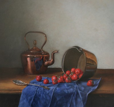 Roy BARLEY - Copper, Brass and Silver, with Strawberries