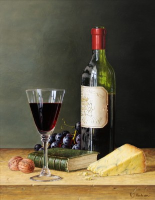 Roy HODRIEN - Chateau Margaux with Stilton and Walnuts