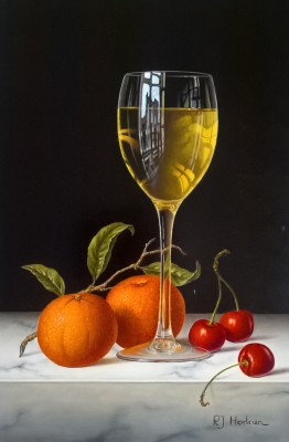 Roy HODRIEN - White Wine with Mandarins and Cherries