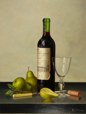 Roy HODRIEN - Chateau Haut-Brion with Pears