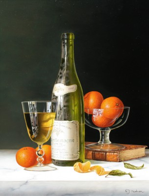 Roy HODRIEN - Corton Charlemagne with Mandarins