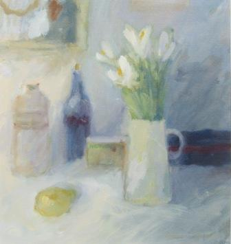 Salliann PUTMAN - Blue Still Life