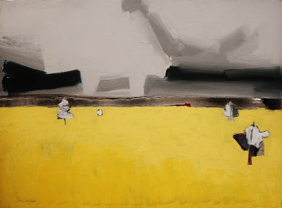 'Ae Fields 1' painting