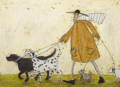 British Artist Sam Toft - Walkies