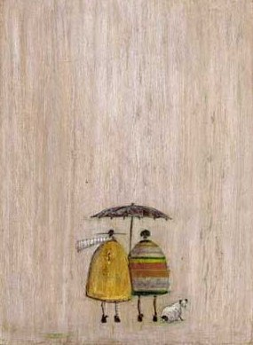 British Artist Sam Toft - Doris gets VERY Wet