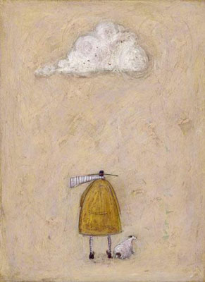 British Artist Sam Toft - It's an ill wind, Doris