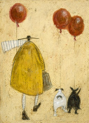 British Artist Sam Toft - Red Balloons