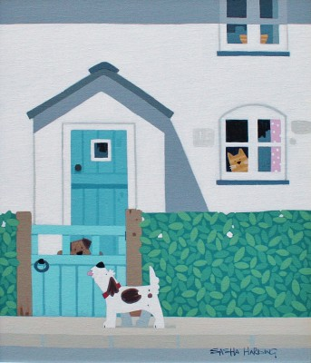 British Artist Sasha HARDING - The Annoying Neighbour