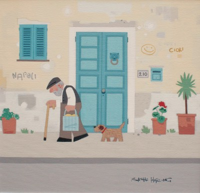 Sasha HARDING - The Old Man and his Dog, Naples
