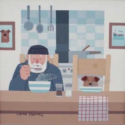British Artist Sasha HARDING - Hot Soup