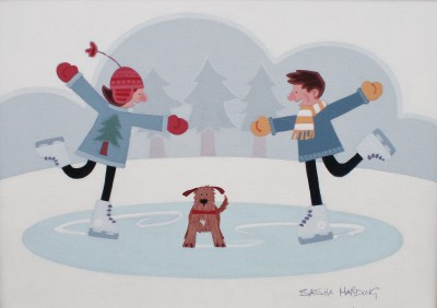 British Artist Sasha HARDING - Winter Games