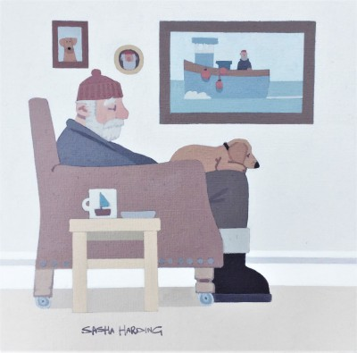 Sasha HARDING - The sleeping fisherman