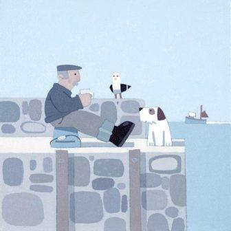 British Artist Sasha Harding - Tea Break