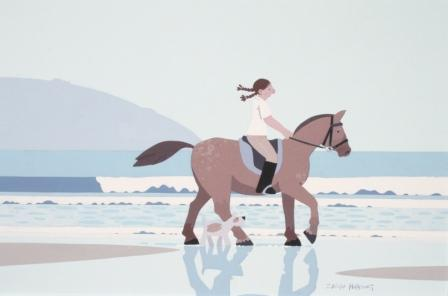 British Artist Sasha HARDING - Summer Ride