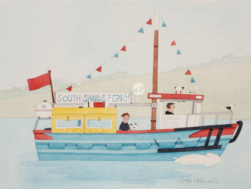 Sasha HARDING - South Sands Ferry