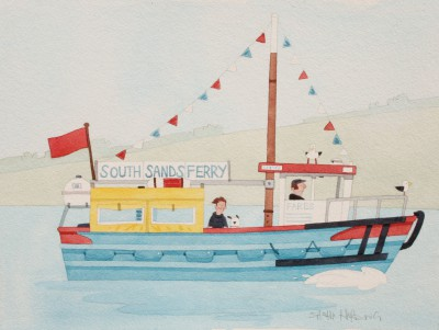British Artist Sasha HARDING - South Sands Ferry