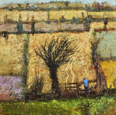 Simon GARDEN - Evening Fields