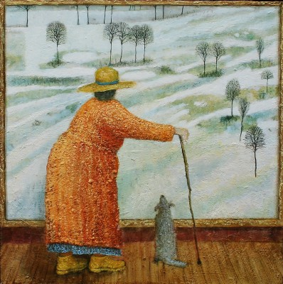 British Artist Simon GARDEN - Winter