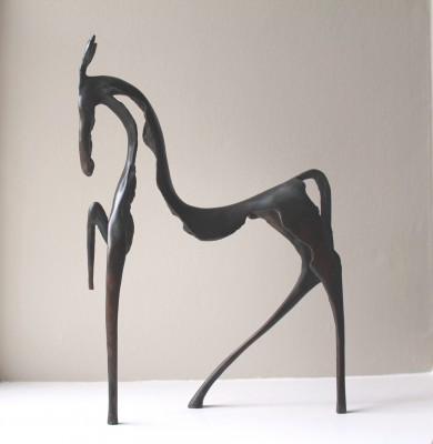 Sculpture and Sculptors Artist Stanley DOVE - Circus Horse