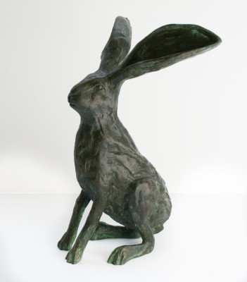 Sculpture and Sculptors Artist Stanley DOVE - May Hare