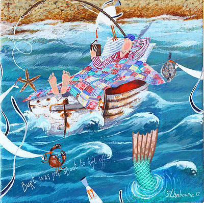 British Artist Stephanie LAMBOURNE - Drifting Off