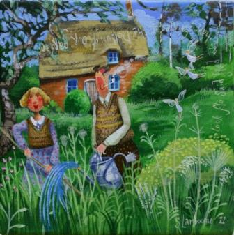 Stephanie LAMBOURNE - At The Bottom Of the Garden
