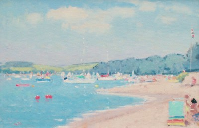 British Artist Stephen BROWN RBA - Summer East Portlemouth