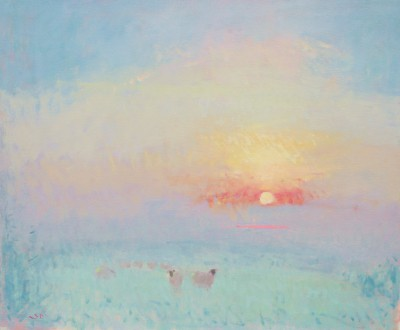 British Artist Stephen BROWN RBA - Sunset