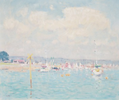 British Artist Stephen BROWN RBA - The Estuary