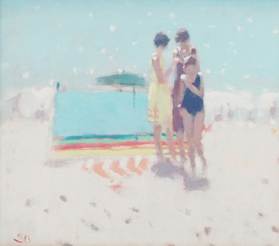 British Artist Stephen BROWN RBA - The Rainbow Windbreak