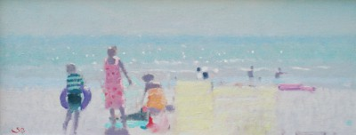 British Artist Stephen BROWN RBA - The Yellow Windbreak
