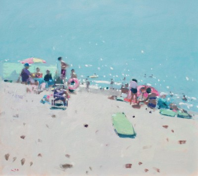 British Artist Stephen BROWN RBA - Sidmouth Beach