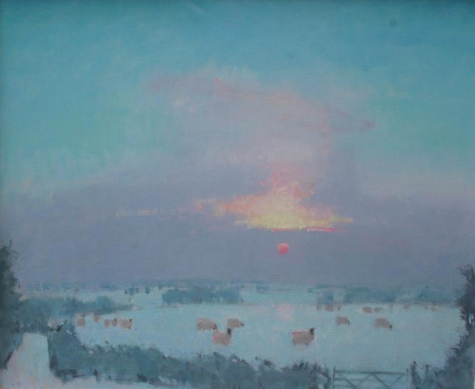 Stephen BROWN - Sunset Winter
