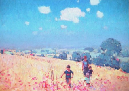 British Artist Stephen BROWN - High Summer