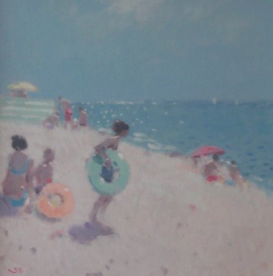 Limited Edition Prints Artist Stephen Brown - Beach Rings