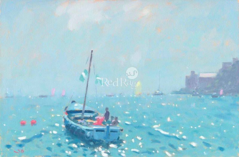 Stephen Brown - Blue Boat Dartmouth