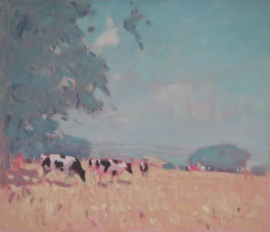 Stephen BROWN RBA - Cows, High Summer