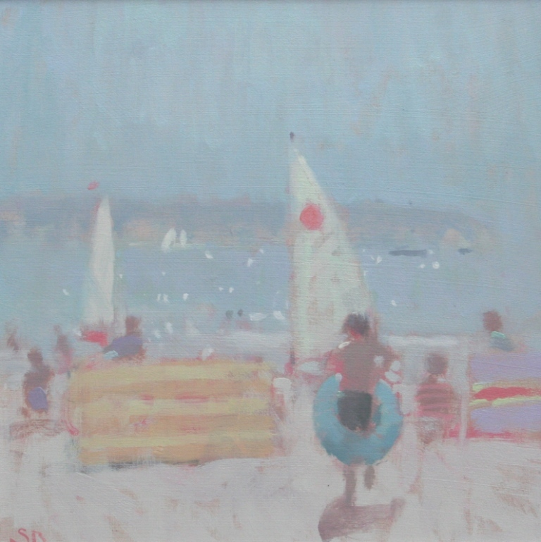 Stephen BROWN RBA - Sun and Sailboats