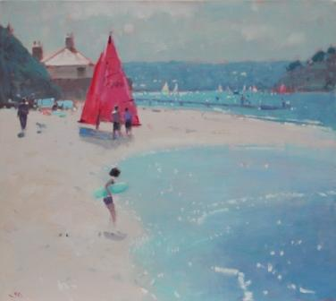 British Artist Stephen BROWN - Sun Sparkle, East Portlemouth