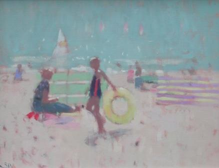 Stephen BROWN - The Beach at Sidmouth
