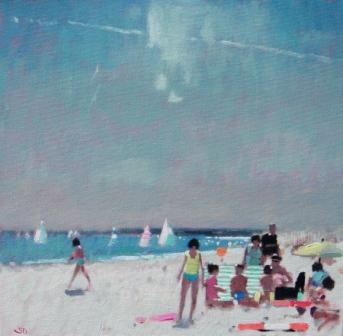 Stephen BROWN RBA - The Beach at West Wittering