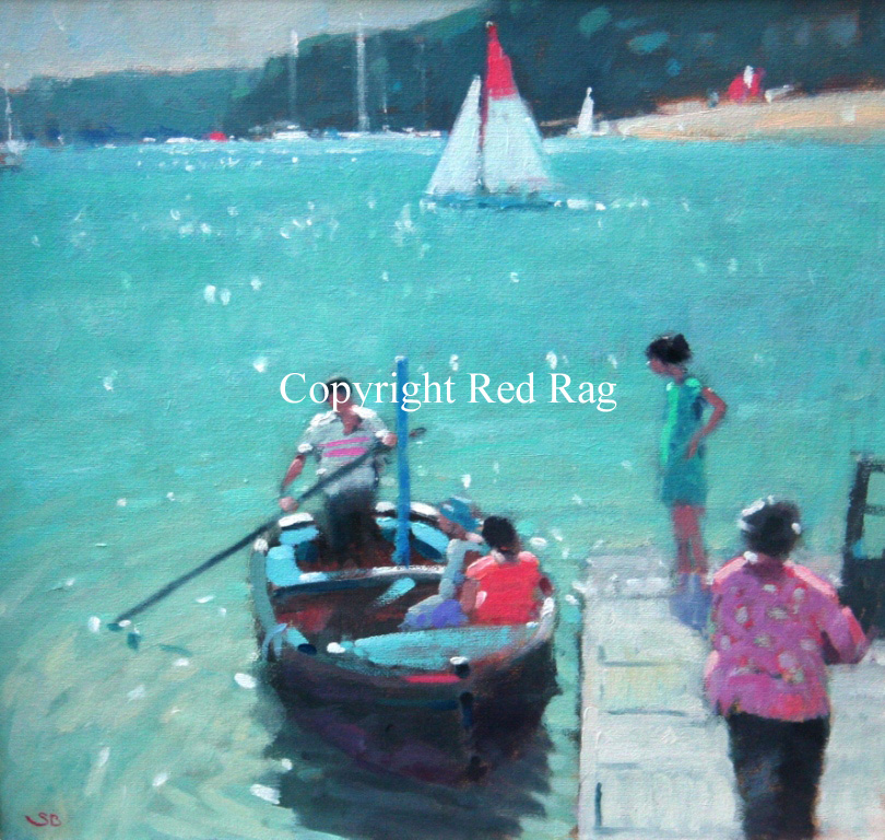 Stephen BROWN RBA - The Ferry Boat II, Salcombe