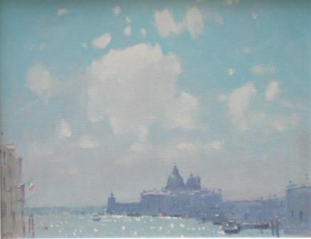 British Artist Stephen BROWN - Spring Sunshine, Venice