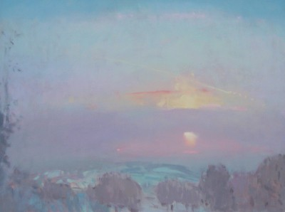Limited Edition Prints Artist Stephen Brown - Sunset