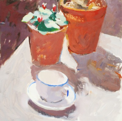 Stephen ROBSON - Coffee in Garden