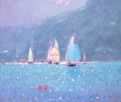 Stephen BROWN RBA - Sailing into Salcombe