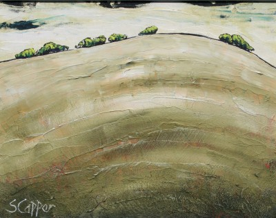 British Artist Steve CAPPER - Green Hill